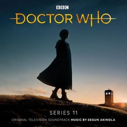 Doctor Who: Series 11 Soundtrack (Segun Akinola) - CD cover