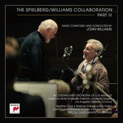 The Spielberg / Williams collaboration Part III Soundtrack (John Williams) - CD cover