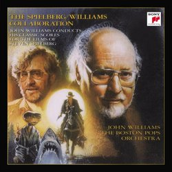 The Spielberg / Williams Collaboration Soundtrack (John Williams) - CD cover