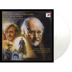 The Spielberg / Williams Collaboration Soundtrack (John Williams) - cd-inlay
