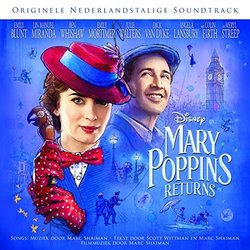 Mary Poppins Returns Soundtrack (Marc Shaiman) - CD cover