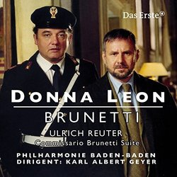 Donna Leon Brunetti: Commissario Brunetti Suite Soundtrack (Ulrich Reuter) - CD-Cover