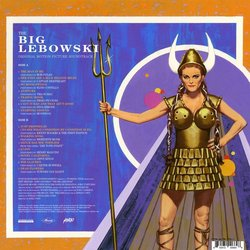 The Big Lebowski 聲帶 (Various Artists) - CD後蓋