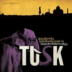 Tusk Soundtrack (Guy Skornik) - CD cover