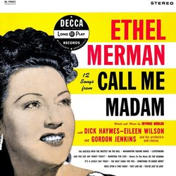 12 Songs From Call Me Madam Soundtrack (Various Artists, Ethel Merman) - CD-Cover