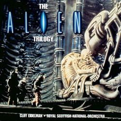 The Alien Trilogy Soundtrack (Elliot Goldenthal, Jerry Goldsmith, James Horner) - CD cover
