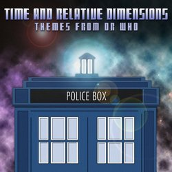 Time and Relative Dimensions: Themes from Dr. Who Soundtrack (Various Artists) - CD cover