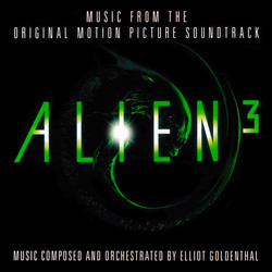 Alien³ Soundtrack (Elliot Goldenthal) - CD cover