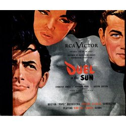 Duel in the Sun Bande Originale (Dimitri Tiomkin) - Pochettes de CD