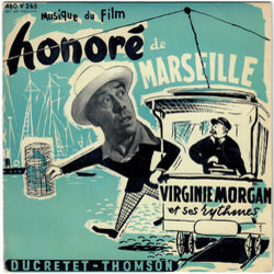 Honoré de Marseille Soundtrack (Henri Betti) - CD-Cover