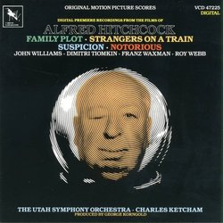 Music from Alfred Hitchcock Films Soundtrack (Dimitri Tiomkin, Franz Waxman, Roy Webb, John Williams) - CD cover