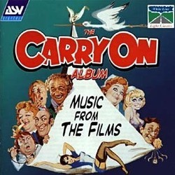 The Carry On Album Trilha sonora (Bruce Montgomery, Eric Rogers) - capa de CD