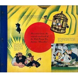 Pinocchio Soundtrack (Leigh Harline, Ned Washington) - CD-Inlay