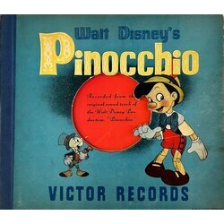 Pinocchio Soundtrack (Leigh Harline, Ned Washington) - CD-Cover