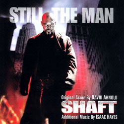Shaft Soundtrack (David Arnold, Isaac Hayes) - CD-Cover