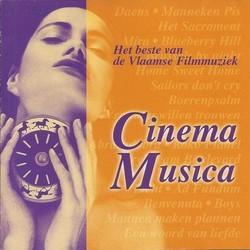 Cinema Musica - Het beste van de Vlaamse Filmmuziek Soundtrack (Various Artists) - CD cover