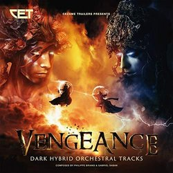 Vengeance Soundtrack (Philippe Briand	, Gabriel Saban) - CD cover