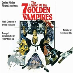 Legend Of The Seven Golden Vampires 声带 (James Bernard) - CD封面
