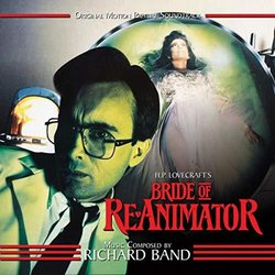 Bride Of Re-animator Soundtrack (Richard Band) - CD cover