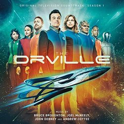 The Orville: Season 1 Soundtrack (Bruce Broughton, Andrew Cottee, John Debney, Joel McNeely) - CD-Cover
