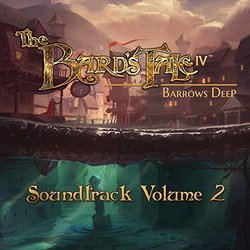 The Bard's Tale IV Barrows Deep, Vol. 2 Soundtrack (Ged Grimes) - CD-Cover