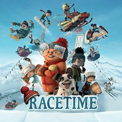 Racetime Soundtrack (Various Artists) - CD-Cover