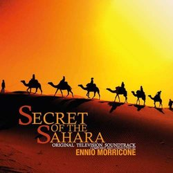 Secret Of The Sahara Soundtrack (Ennio Morricone) - CD cover