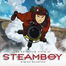 Steamboy Soundtrack (Steve Jablonsky) - CD cover