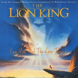 The Lion King: Can You Feel The Love Tonight 聲帶 (Kevin Bateson, Allister Brimble, Patrick J. Collins, Matt Furniss, Elton John, Frank Klepacki, Dwight K. Okahara, Hans Zimmer) - CD封面
