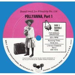 Pollyanna Soundtrack (Various Artists, Hayley Mills, Paul J. Smith) - CD cover