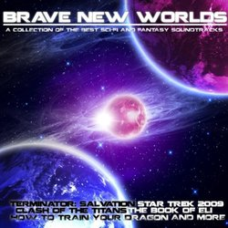 Brave New Worlds Colonna sonora (Various Artists) - Copertina del CD
