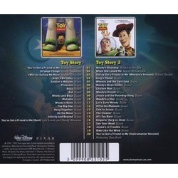 Toy Story / Toy Story 2 Bande Originale (Various Artists, Randy Newman) - CD Arrière