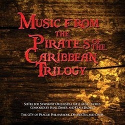Music From the Pirates of the Caribbean Trilogy Soundtrack  (Klaus Badelt, Hans Zimmer) - CD cover