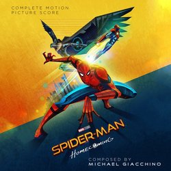 Spider-Man: Homecoming Trilha sonora (Michael Giacchino) - capa de CD