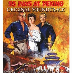 55 Days at Peking Soundtrack (Dimitri Tiomkin) - CD cover