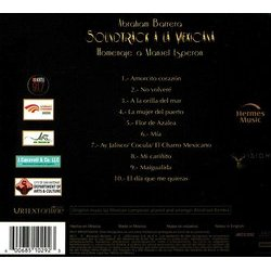 Abraham Barrera: Soundtrack la Mexicana - Homenage a Manuel Esperon Soundtrack (Abraham Barrera) - CD Trasero