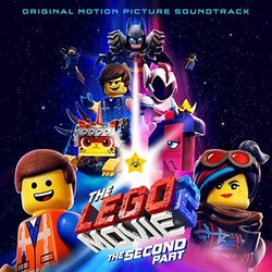 The Lego Movie 2: The Second Part サウンドトラック (Various Artists) - CDカバー