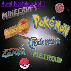 Aural Nostalgia Vol 1 Soundtrack (Will Pisani) - CD cover