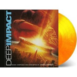 Deep Impact Soundtrack (James Horner) - CD Achterzijde