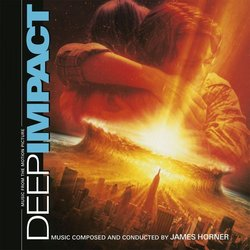 Deep Impact Soundtrack (James Horner) - CD cover