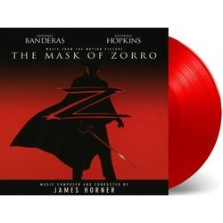 The Mask of Zorro Soundtrack (James Horner) - CD-Inlay