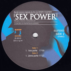 Sex Power Trilha sonora (Vangelis Papathanassiou) - CD-inlay