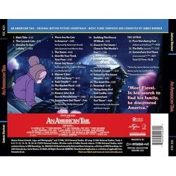 An American Tail 聲帶 (James Horner) - CD後蓋
