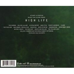 High Life Soundtrack (Stuart A. Staples) - CD Trasero