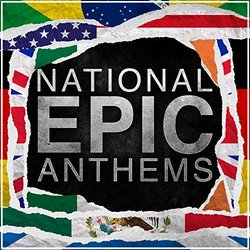 Epic National Anthems Vol. 1 Trilha sonora (Alala , Various Artists) - capa de CD