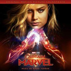 Captain Marvel Soundtrack (Pinar Toprak) - Carátula