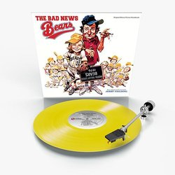 The Bad News Bears Trilha sonora (Jerry Fielding) - CD-inlay