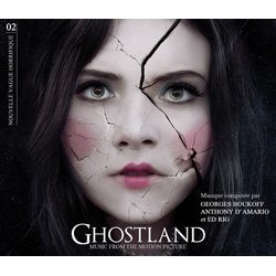Ghostland Μουσική υπόκρουση (Georges Boukoff, Anthony d'Amario, Ed Rig) - cd-inlay