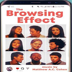 The Browsing Effect Trilha sonora (Matthew A.C. Cohen) - capa de CD