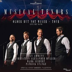 Musical Tenors - Older But Not Wiser Tour 声带 (Various Artists) - CD封面